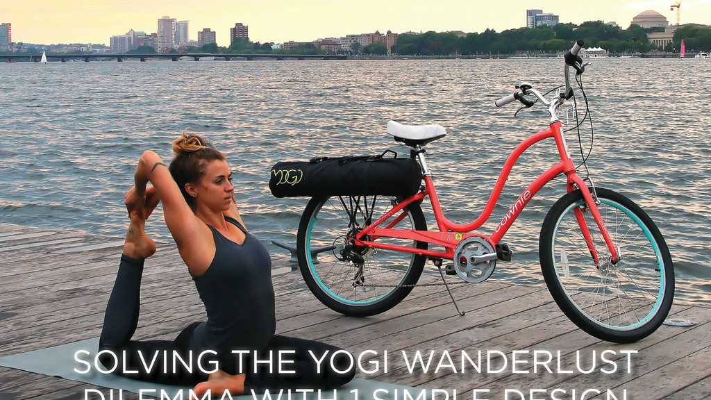 Mogi A Quick Connect Yoga Mat Pannier By Lyndsey Morash