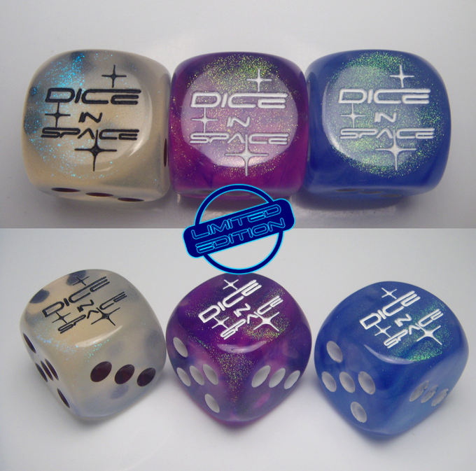 custom DICE IN SPACE 16mm, limited!