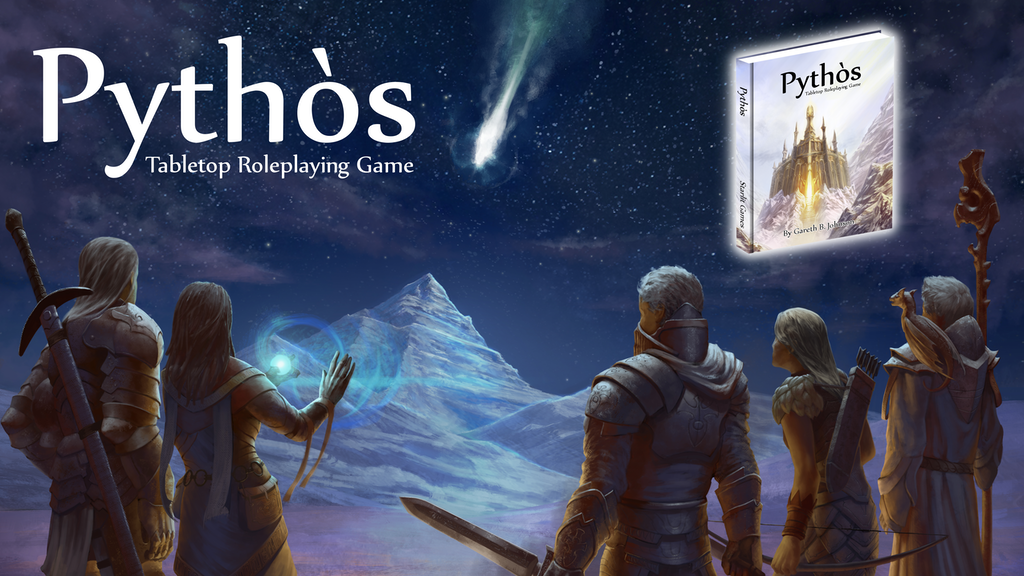 Pythos Tabletop RPG, Roleplaying Game of Myths and Legends project video thumbnail