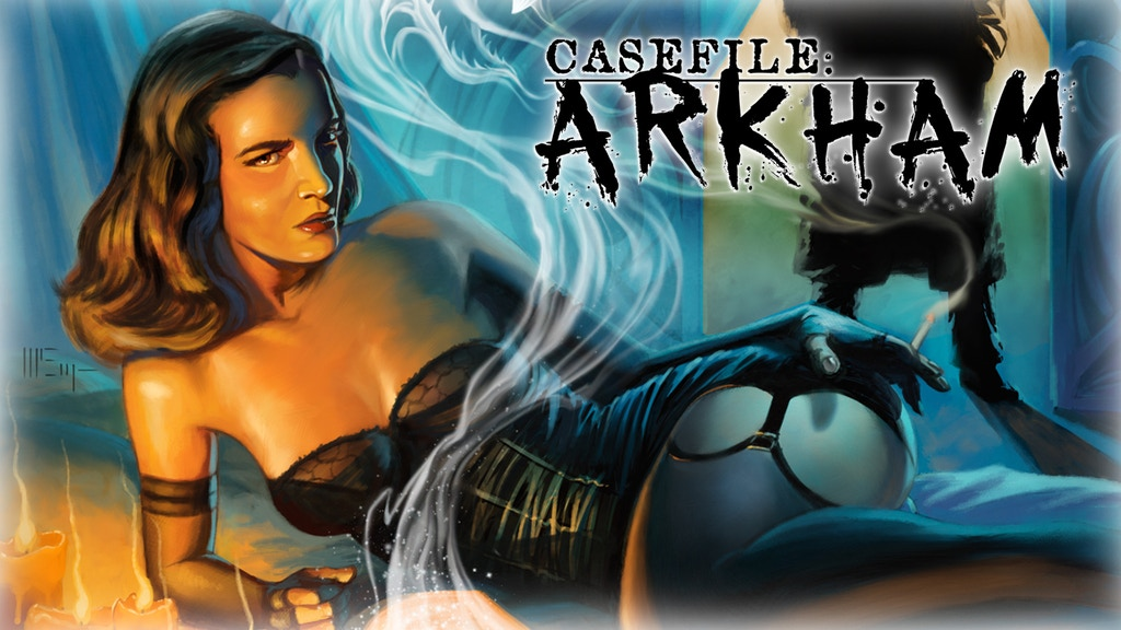 "Casefile: ARKHAM ""Her Blood Runs Cold"" project video thumbnail"