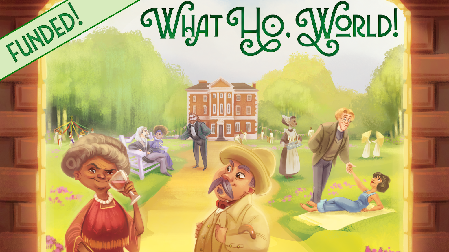 Be whisked back to a 1920s London that never was in a card-based storytelling game that lets you jump straight into playing!