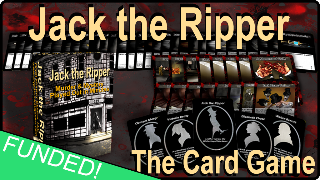 Jack the Ripper - A Primer Card Game by Crypt Monkey Studios