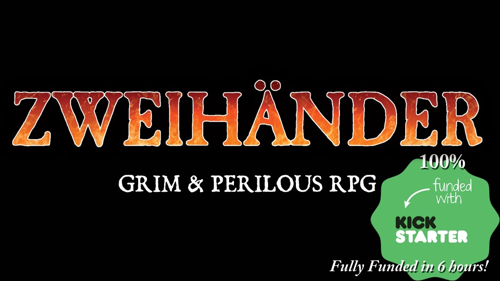 ZWEIHÄNDER Grim & Perilous RPG project video thumbnail