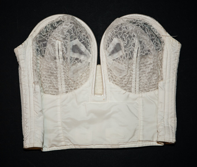 1950s overwire bra, from The Underpinnings Museum collection.