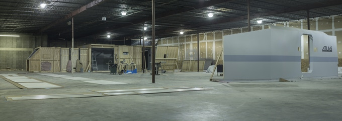 spacecraft in the warehouse - construction #1