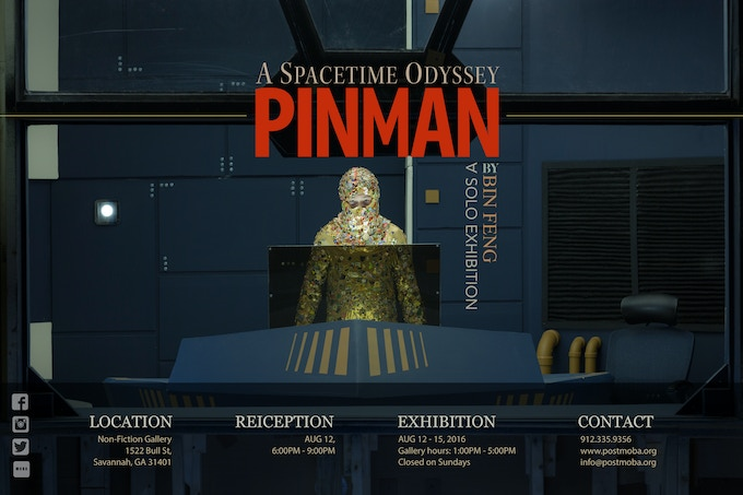 Pin Man - A Spacetime Odyssey - Poster