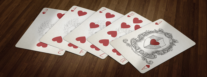 Hearts - Number Cards