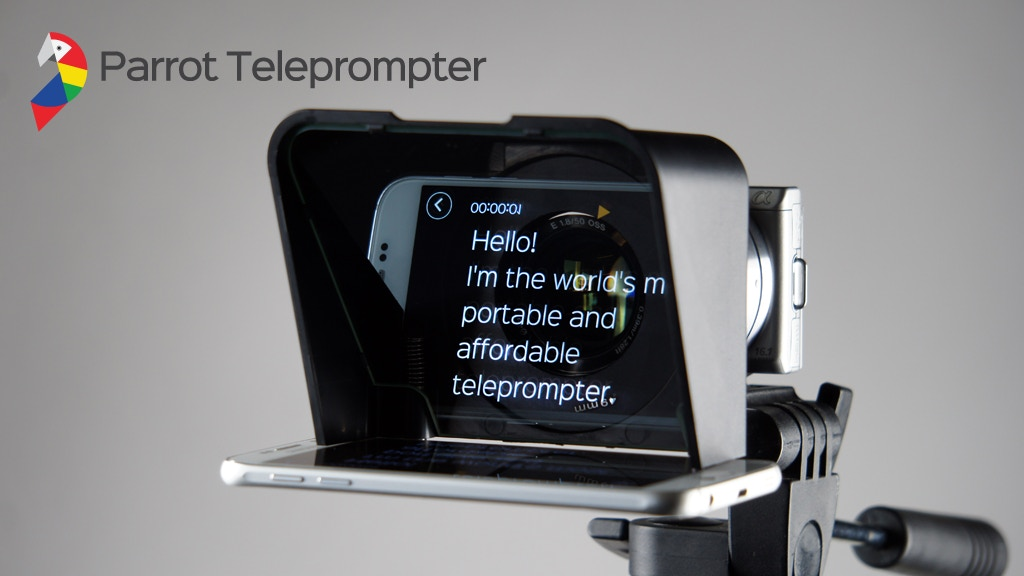 Parrot 2 | The most portable and affordable teleprompter! project video thumbnail