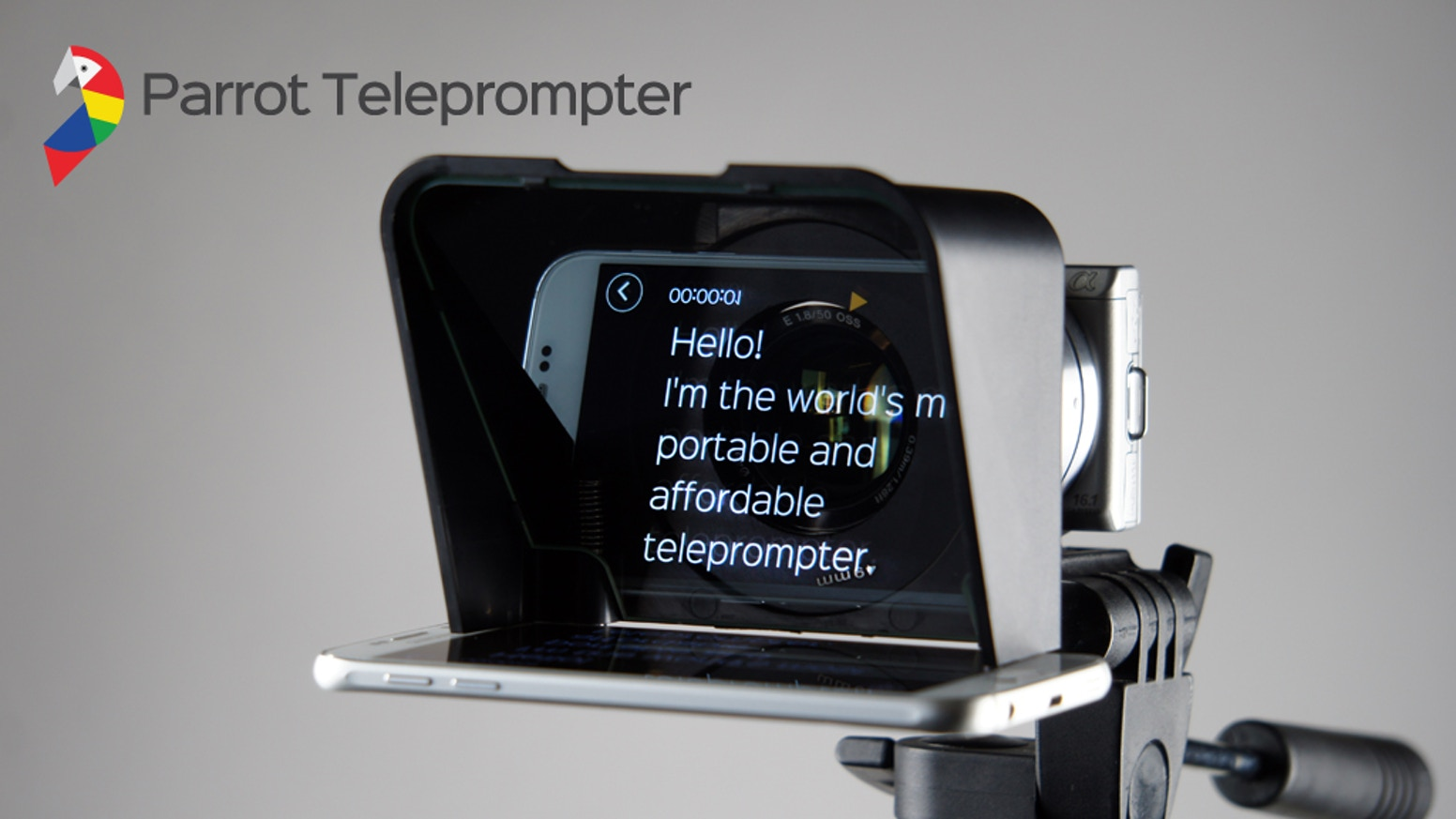 We took the worlds most portable and affordable professional teleprompter and made it even better!