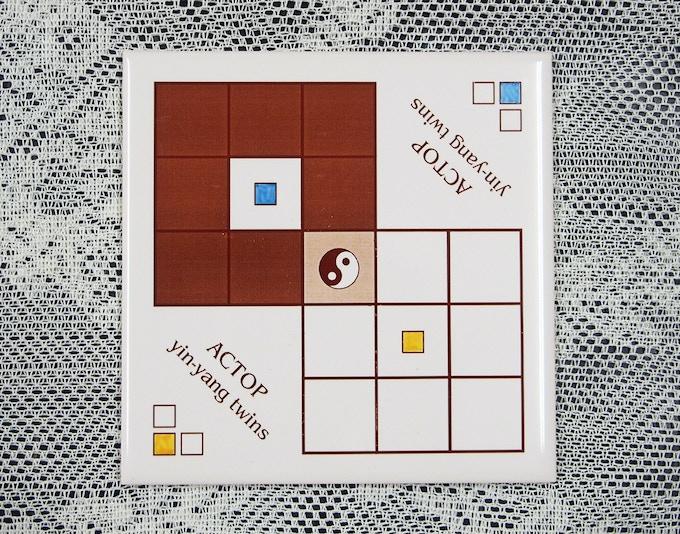 yin-yang twins board