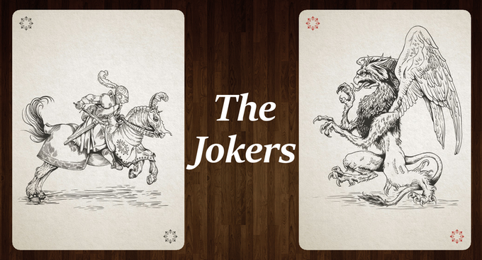 Silver Edition Jokers (click for higher resolution)