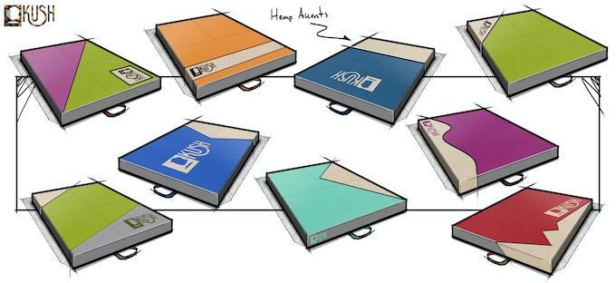 Crash pad concept drawings