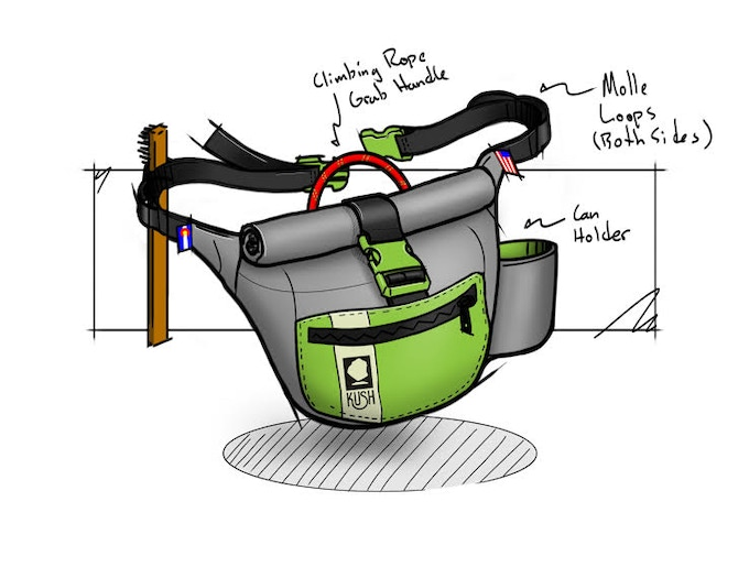 Fanny pack concept drawings