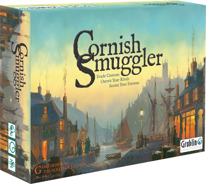 Evade Customs, Outwit your opponents and secure your fortune in this strategic board game for 2-5 players set in 18th Century Cornwall. Missed the Kickstarter? Don't worry!