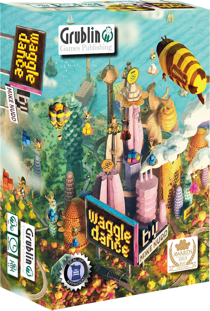 Build a beehive, collect nectar & make honey - be efficient, be strategic, outmanoeuvre your opponents in this strategic board game!!!Missed the Kickstarter? Don't worry!