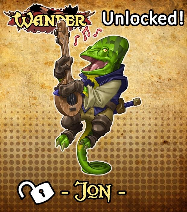 Jon the Bard has been UNLOCKED!