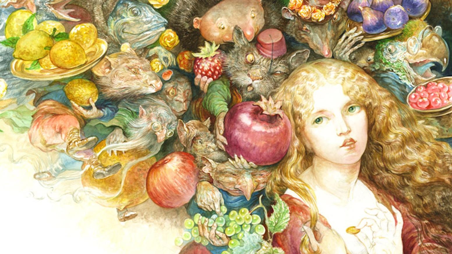 Goblin Market An Art Book By Omar Rayyan By Omar Rayyan Kickstarter