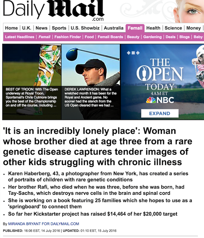 Daily Mail Article