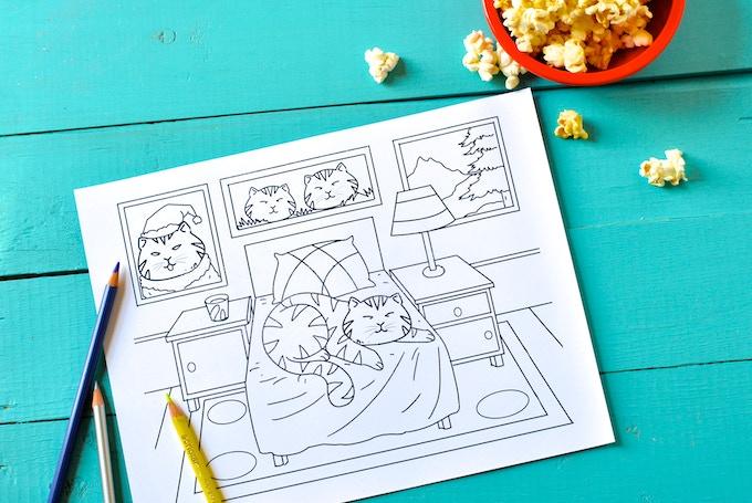 Lazy Ass Cats раскраска для взрослых Crowdpublishing