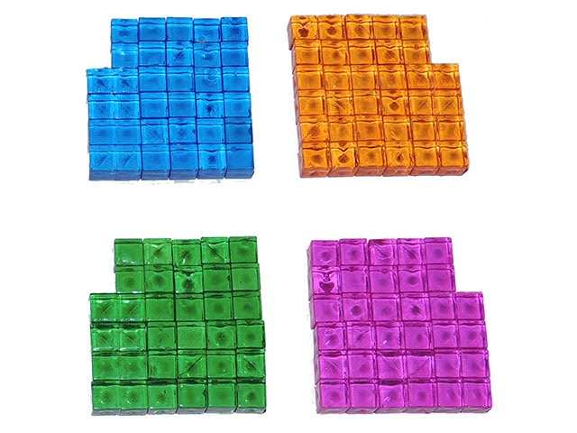 Translucent Energy Cubes for Marking Ownership of Industries
