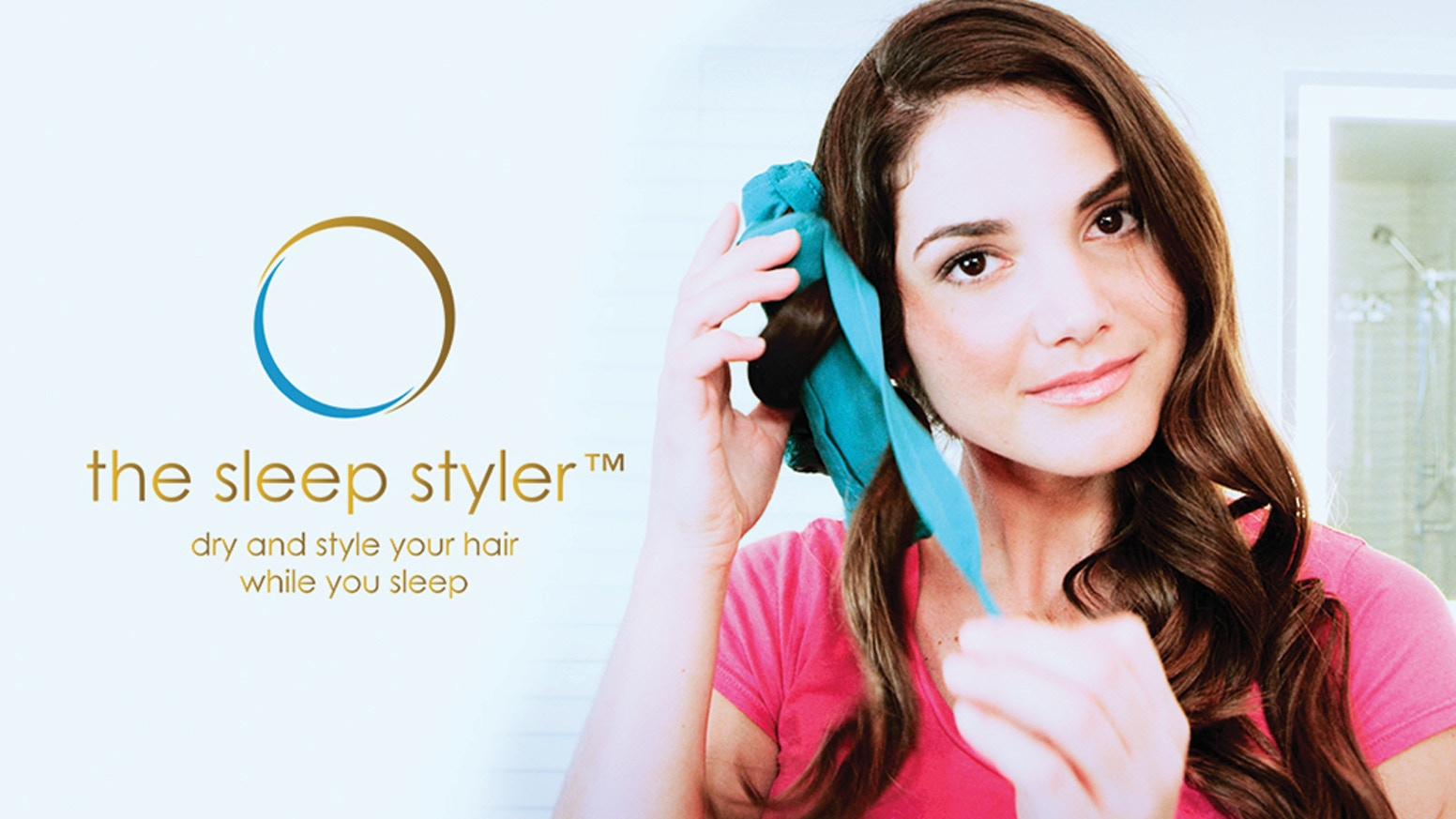 The Hair Curler Re-Invented. Dry and style your hair while you sleep, curly or straight!