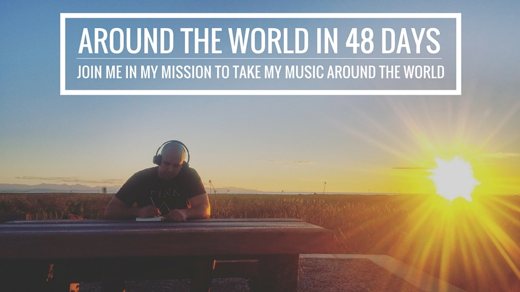 Jason James- Help take my music around the world in 48 days project video thumbnail