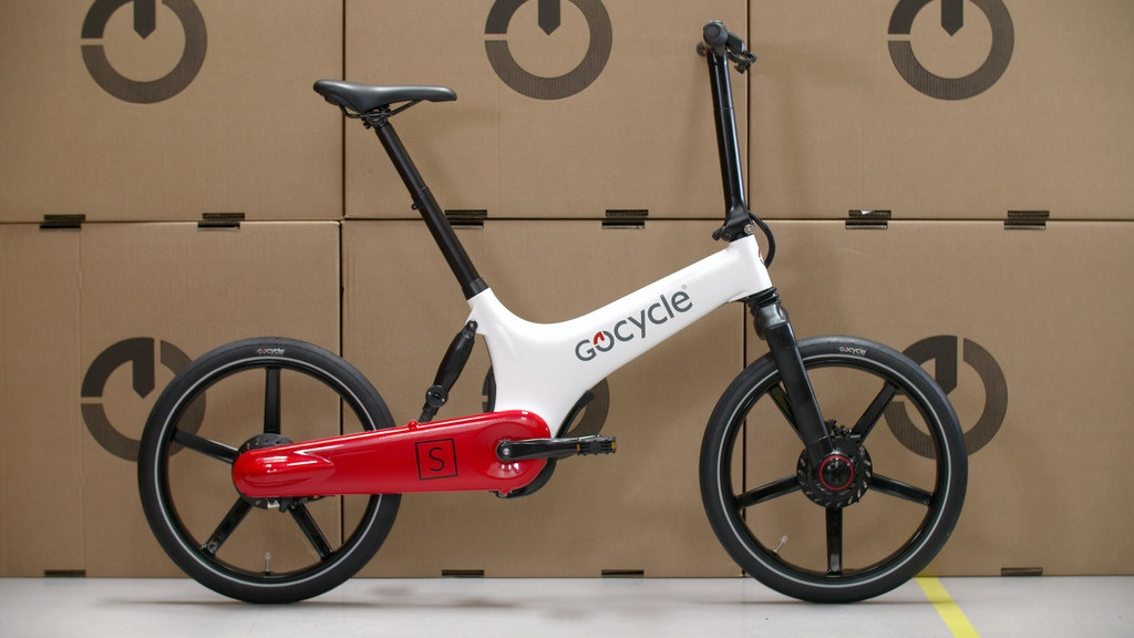 Gocycle - the BEST folding electric bike in the world! project video thumbnail