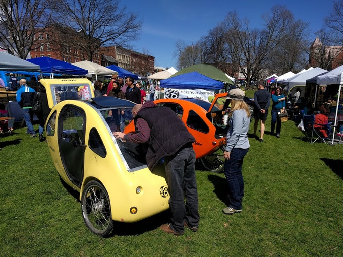 The PEBL: A Hemp Based, Four Season, Pedal Electric Vehicle
