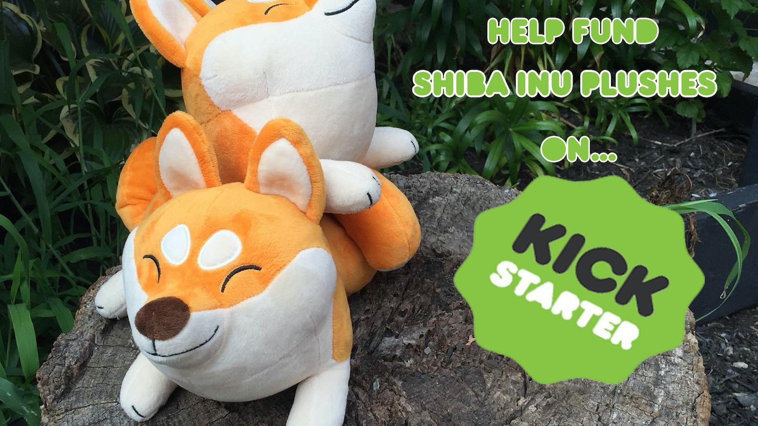 Help bring this shiba inu plush to life!