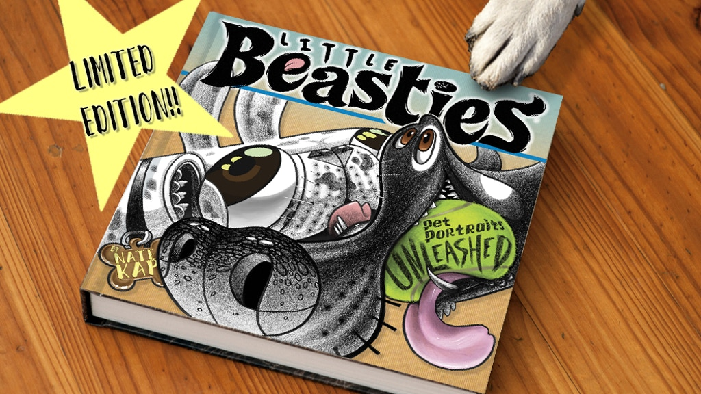 Little Beasties Artbook Nate Kap Exaggerated Pet Caricatures project video thumbnail