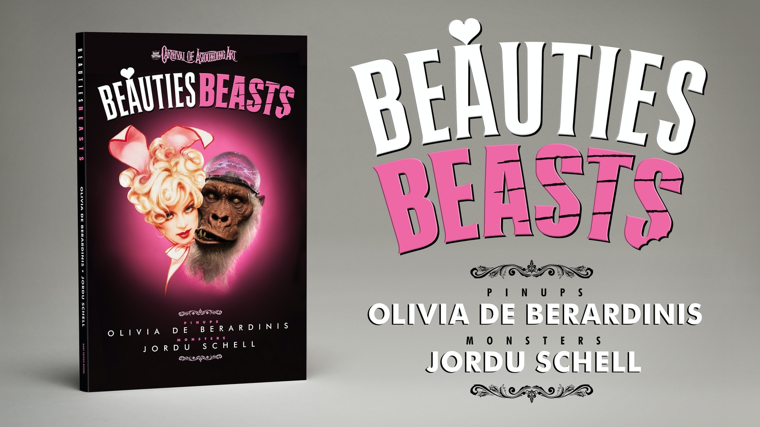Lovely Ladies and Menacing Monsters from pinup legend Olivia De Berardinis and creature creator Jordu Schell. Foreword by Elvira.