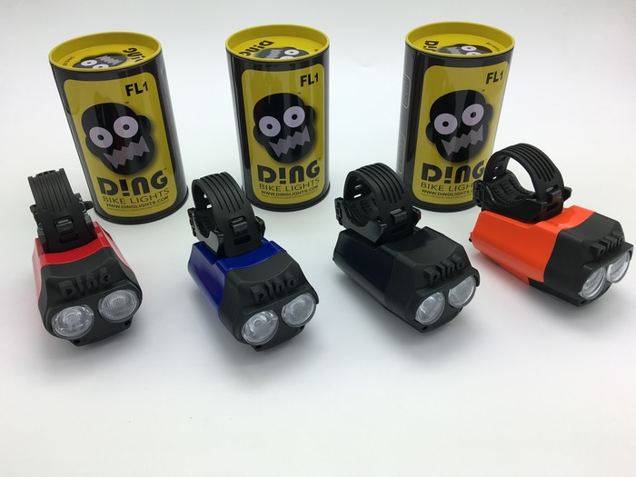 DING IS THINKING DIFFERENTLY. LIGHTING UP YOUR PATH AHEAD AND AROUND YOUR RIDE AT THE SAME TIME. BE SAFE, BE SEEN, GO DING