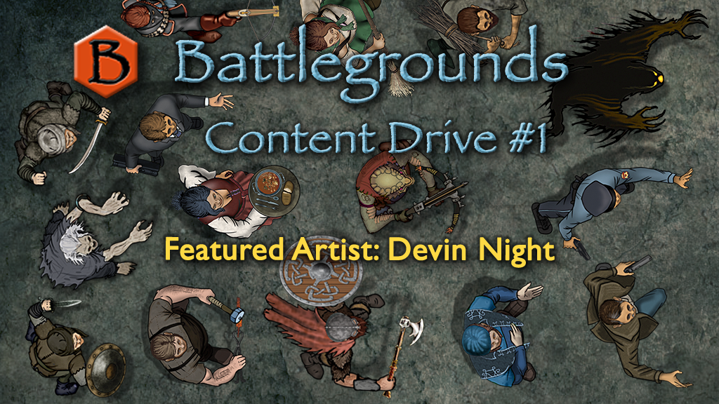 Battlegrounds virtual tabletop Content Drive #1 (Redux) project video thumbnail