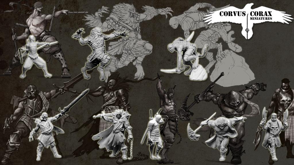 Project image for Corvus Corax Miniatures - Reinforcements