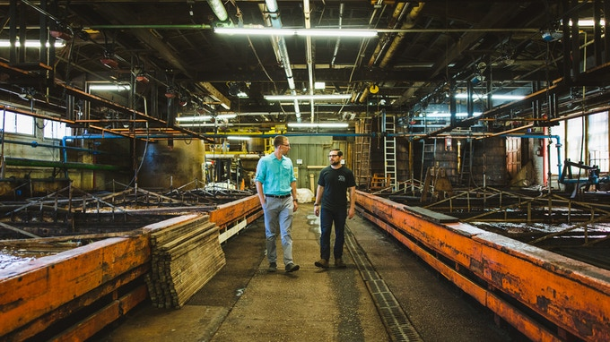 Nick Horween of Horween Leather in Chicago