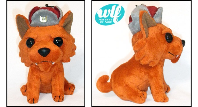Plush prototype, final production version may have minor differences in material, colour or other small details.