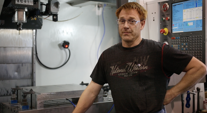 Jeff talks about machining Journeyman cases