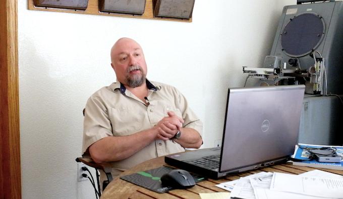 Kevin - Vortic's design consultant
