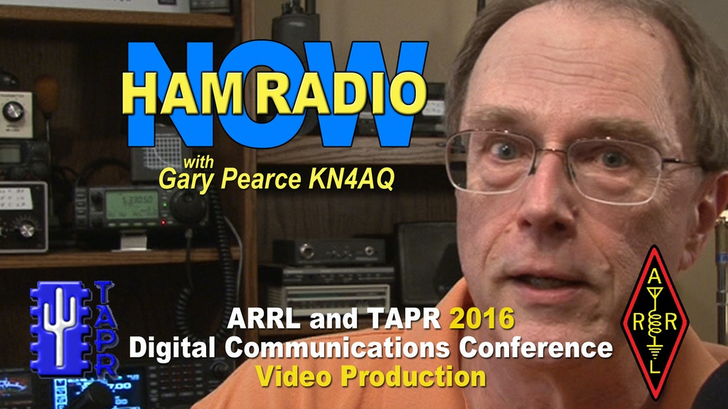 2016 TAPR DCC Video on HamRadioNow project video thumbnail