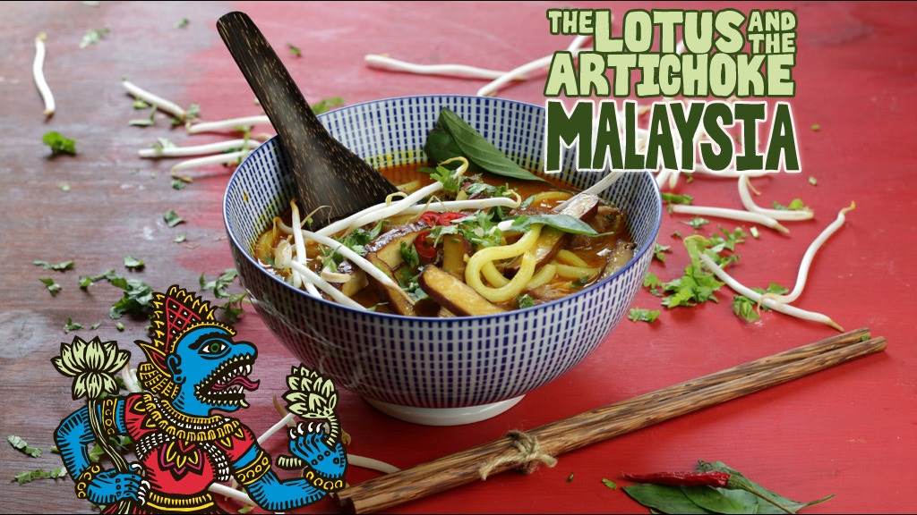 The Lotus and the Artichoke - MALAYSIA Vegan Cookbook project video thumbnail