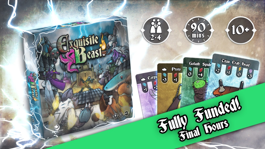 Exquisite Beast - A Board Game of Monstrous Mad Science project video thumbnail