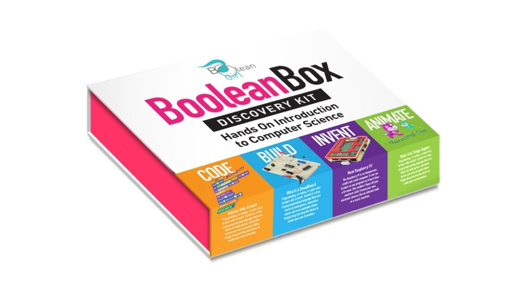 Boolean Box - a Tech Discovery & Coding Kit for STEM Girls project video thumbnail