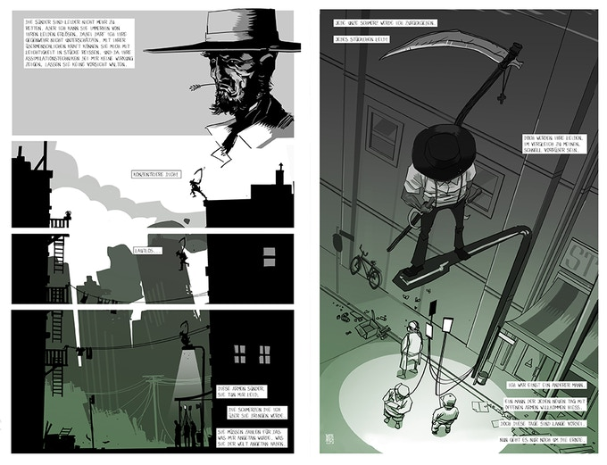 """Molekei, last of the Amish"" sample pages"