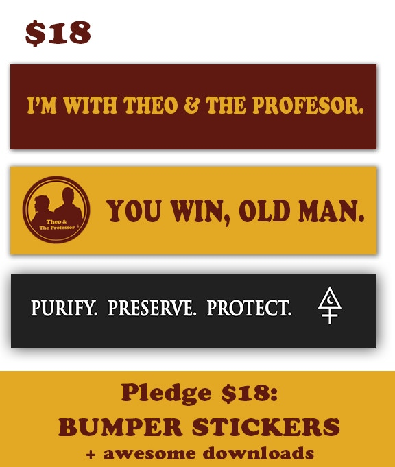 Become a MABS Operative and get sweet bumper stickers as a thank you for your support.