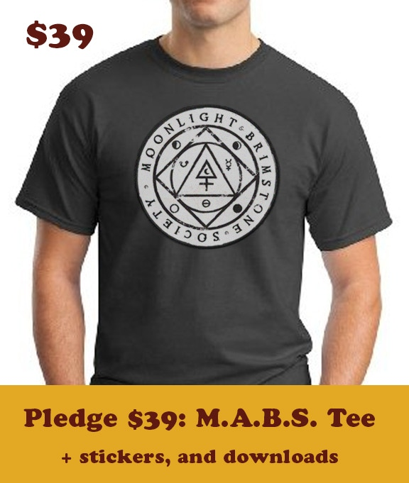 Your $39 pledge earns you to the title of MABS MASTER OPERATIVE, this MABS Exclusive Tee, stickers, etc and our most heartfelt thanks!