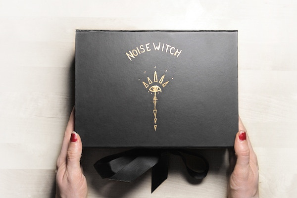 Your very own elegant box full of WITCH SECRETS! (An early prototype).