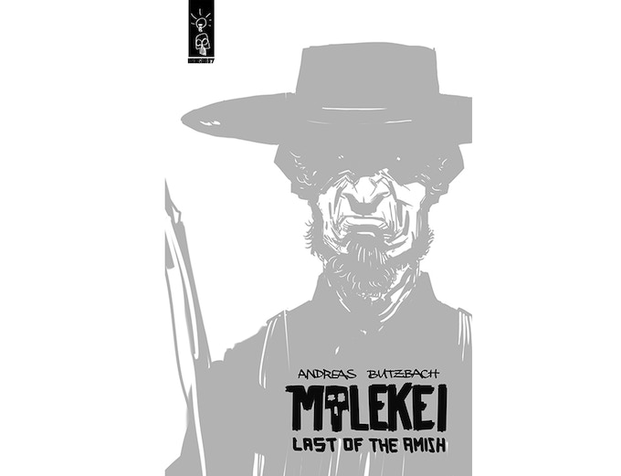 "Cover ""Molekei, last of the Amish"""