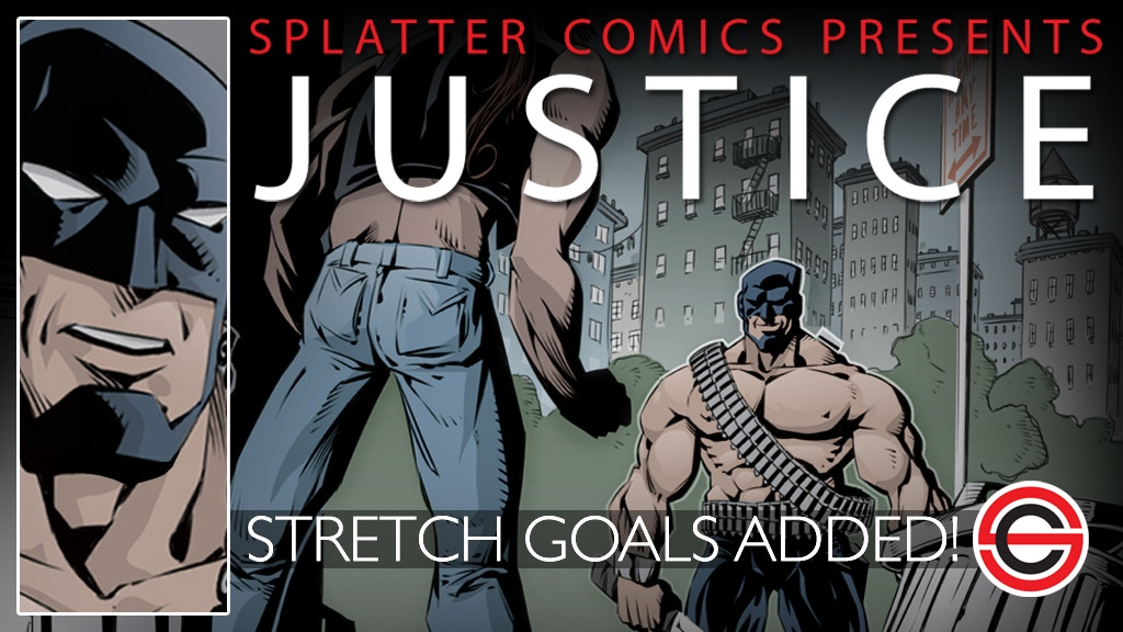 Splatter Comics Presents: Justice project video thumbnail