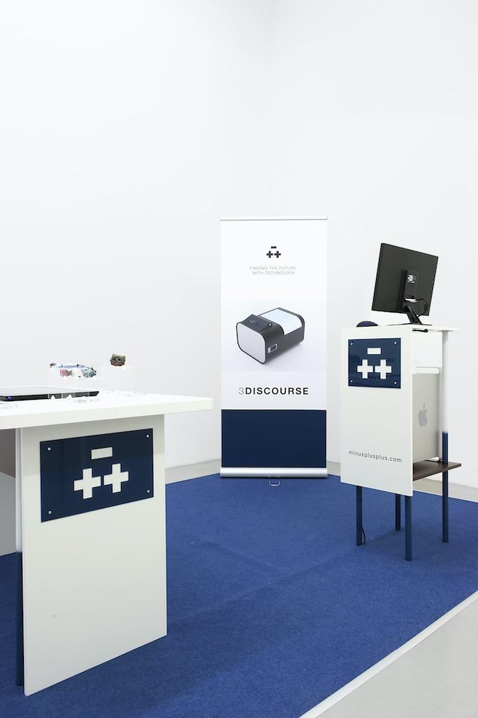 Minusplusplus Showroom (Installation View)