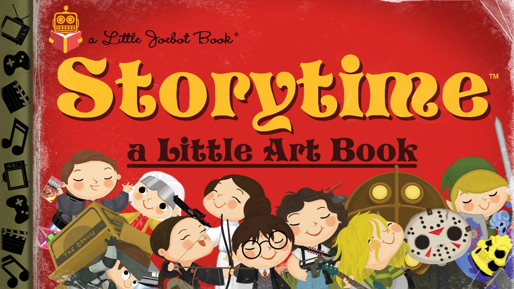 Storytime - A Little Art Book by Joey Spiotto project video thumbnail
